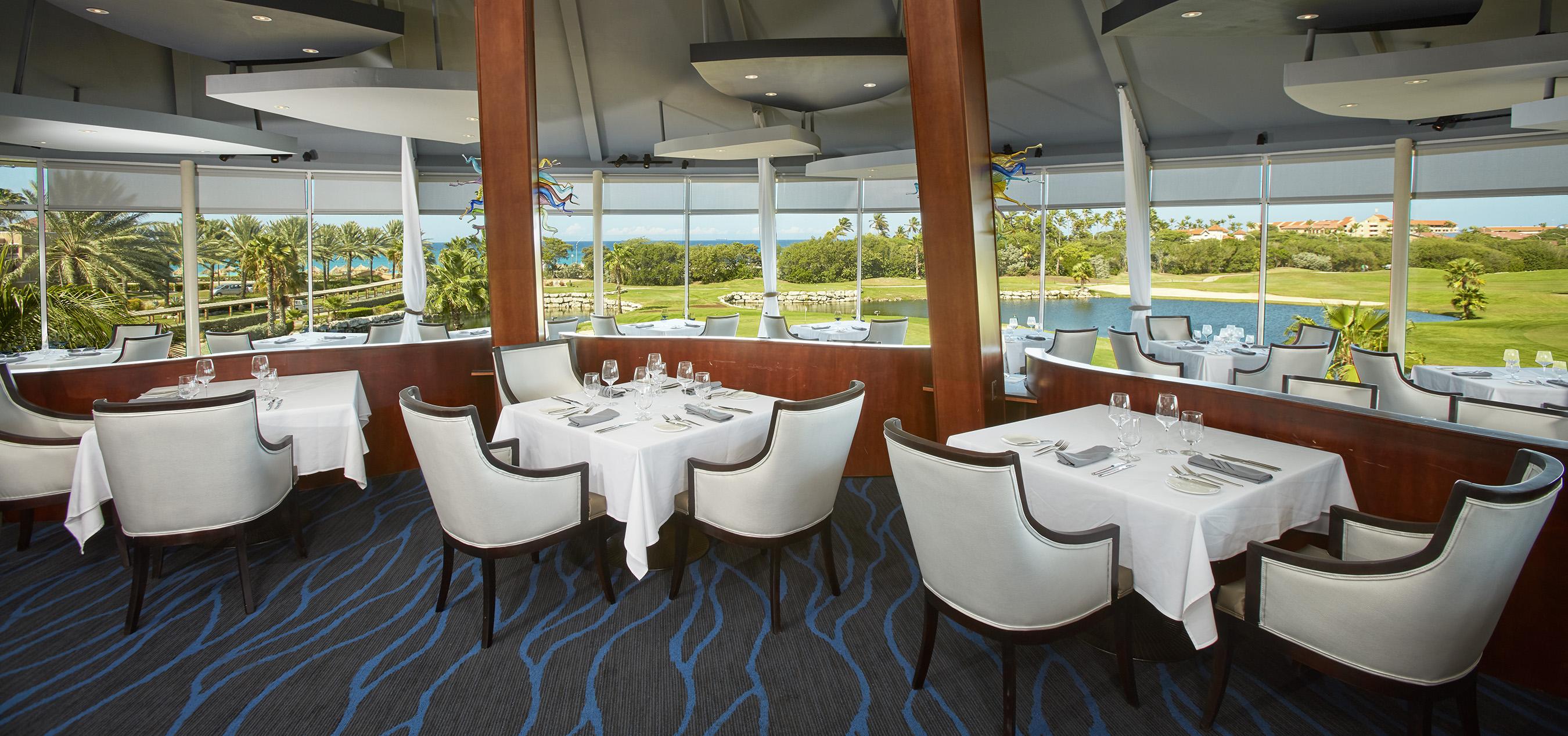 Restaurant Windows Aruba