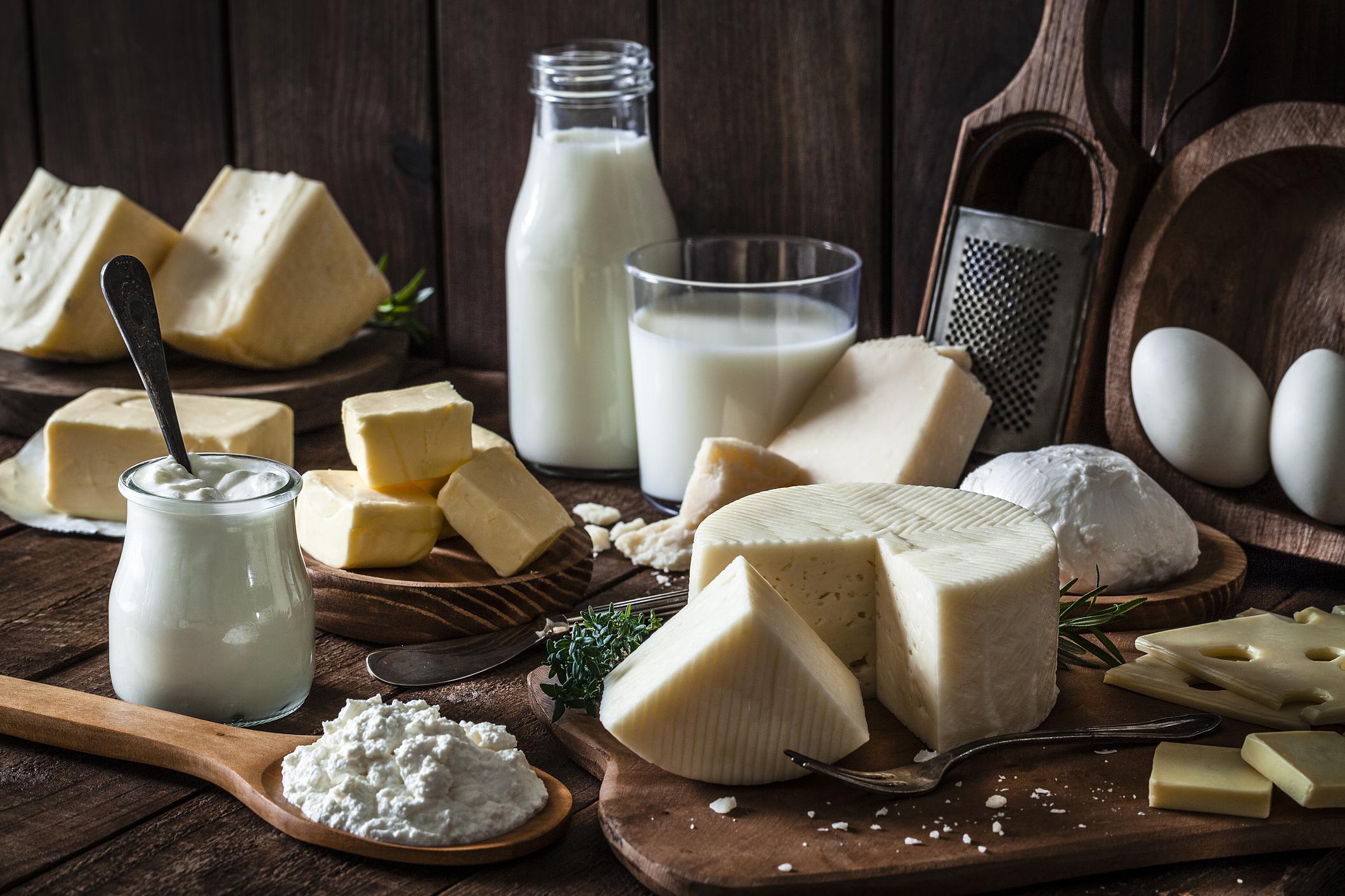 Melk en kaas