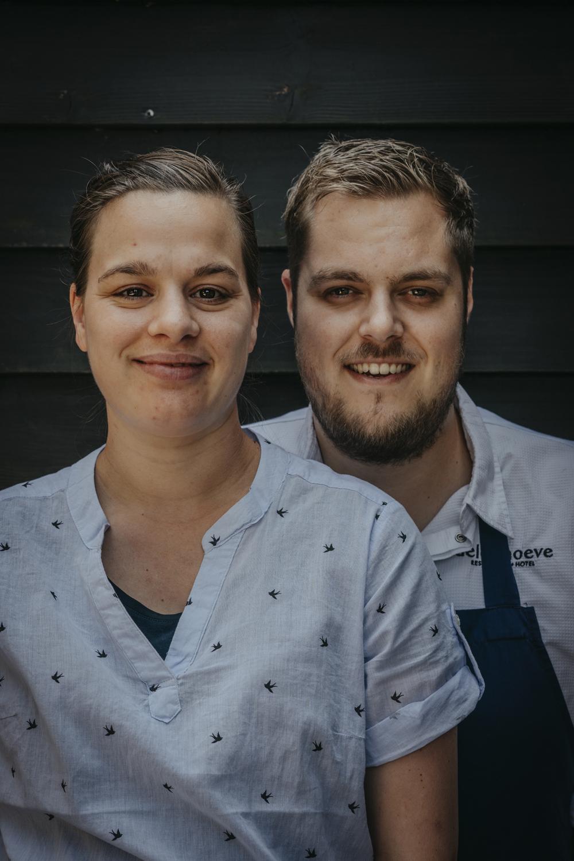 Jeroen en Marleen Brouwer
